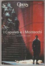Programme Opéra Bastille I Capuletti e i Montecchi Vincenzo Bellini 2004