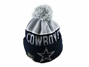 Dallas Cowbows NFL beanie pom hat