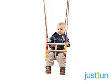 Gitterschaukelsitz aus Holz Kinderschaukel Schaukelsitz Babyschaukel Kleinkind