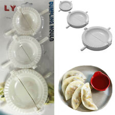 3 x Dumpling Mould Dough Pastry Ravioli Press Gyoza Kitchen Tool Empanada Mold