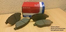 Front Brake Pad Set part number GBP1516AF for Skoda Fabia , VW Polo