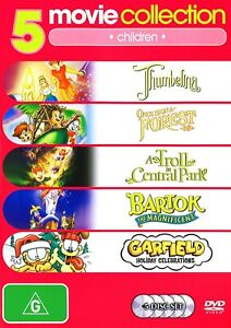 263A NEW SEALED THUMBELINA+ONCE UPON A FOREST+A TROLL IN CENTRAL PARK+BARTOK