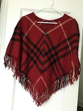 Burberry London Poncho NWOT