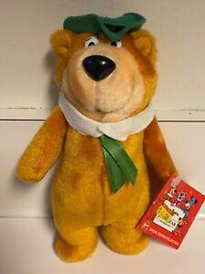 "Yogi Bear 8"" Plush Figure - Wendy's 1988 Hanna-Barbera w/ Tag"