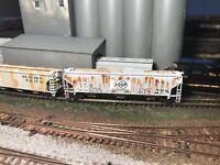 N Scale Custom Weathered Hopper