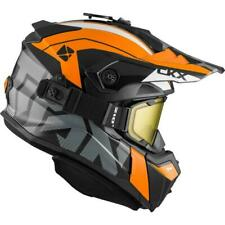 CKX Titan Backcountry Snowmobile Helmet Altitude Gloss Orange/White XL