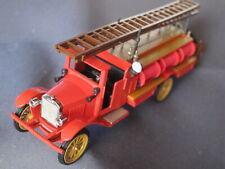 Conrad-Zinkdruckguß-Modell 1:43 VOLVO Fire truck 1928 rot, ca. 40 Jahre alt