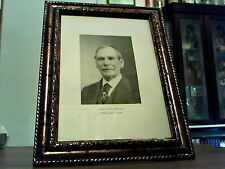 CIVIL WAR UNION GENERAL JAMES SHIELDS  IN 1871 ORIGINAL FRAMED PRINT - 1898