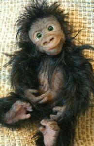 Silicone Baby doll  Gorilla  Monkey ecoflex 20