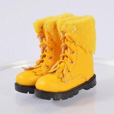 shoes Yellow for 1/6 custom phicen Kumik UD ED Female Seamless Flat feet Body
