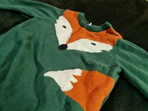 H&M Fox jumper - 12-18 mo