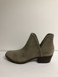 Lucky Brand Baley Bootie Brindle Gray 9 M