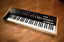 Korg PolySix Analog Synthesizer with KiwiSix CPU upgrade, solid oak, new psu