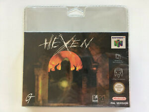 Jeu vidéo Hexen Nintendo 64 sous blister rigide