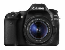 Canon EOS 80D 24.2 MP DSLR Camera (with 18-55mm STM Lens)