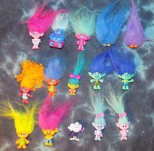 Hasbro DreamWorks TROLLS Series 3 & 4 Figures - All New w/o bags - 15 Total