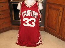 Stanford University Men's Basketball Team game used mesh jersey #33 McClelland