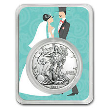 2017 1 oz Silver American Eagle - Just Married Couple - SKU #150744
