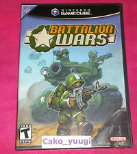 BATTALION WARS NINTENDO GAMECUBE NTSC US NEUF NEW