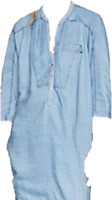 G-Star Raw Dress It Aged Dress Ladies UK Large Fitted Pressed *ref58