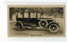 (Jb5079-100)  WILLS NZ,MOTOR CARS,ROLLS-ROYCE,1926#6