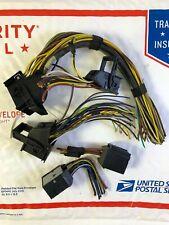 01-03 BMW E53 X5 Engine Control Module Connectors 5WK90015 7 519 308C