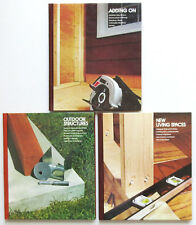 Home Repair and Improvement Diy Book Lot=Building/Adding On a Room,Window,Wall,+
