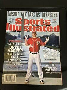 Bryce Harper 2013 sports illustrated no label nationals phillies