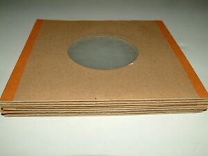 """8 Poly Lined Card 7"""" Record Sleeves"""