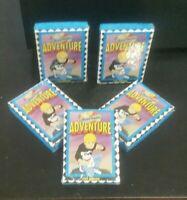 Fantastic HANNA-BARBERA Adventure Trading Cards SEALED SET 1995 LIMITED EDITION