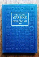 Studio Year Book Decorative Art 1925 Architecture Applied Art Design Furniture