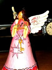 You Hold The Key To My Heart Love Angel Figurine by Jim Shore - 4037647 Very Nic