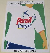 Advertising Retail Persil Fun fit - unposted
