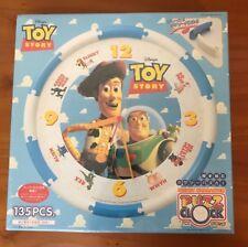 Rare! New Sealed Tenyo Toy Story Chinese Japanese Imported 135 Pcs Clock Puzzle