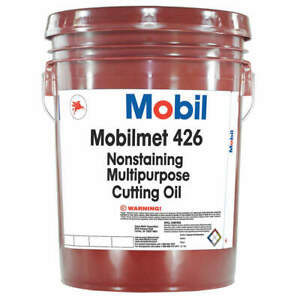 MOBIL 103801 Mobilmet 426, Cutting Oil, 5 gal