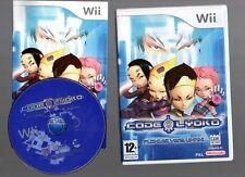 Rare !!! CODE LYOKO  !!! PLONGEZ VERS L'INFINI : Superbe Sur Wii/Wii U Complet