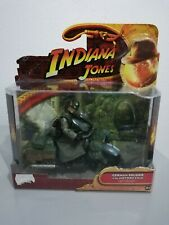 Indiana Jones Last Crusade German Soldier with Motorcycle Action Figure 2008 New