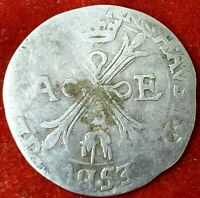 1Real No Date 1603-1607  Spanische Niederlande Münze, BRABANT,Km 25.1,867 Silber
