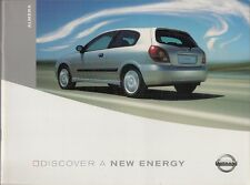 Nissan Almera 2002-04 UK Market Brochure S SE SVE SXE 1.5 1.8 2.2 dCi 112 136