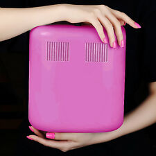 36W LED Nail Dryer Square Shape Curing Machine For UV Gel Lamp Nail Polish