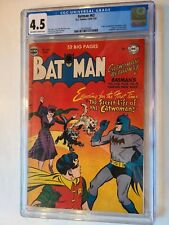 BATMAN # 62 DC 1950 1951 CGC 4.5 OFWH/WT CATWOMAN ORIGIN AND NAME REVEALED
