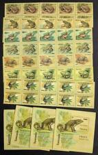 EDW1949SELL : TANZANIA 1996 Scott #1453-60 Frogs 10 Cplt sets + 10 S/s Cat