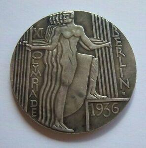 Orig.commemorativ medal   XI.Olympic Games BERLIN 1936  !!  EXTREM RARITY