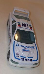 Burago Peugeot 485 1/48 White Rally Decals Made In Italy In Ok Condition