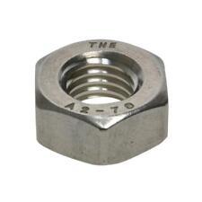 G304 Stainless Steel M5 (5mm) Metric Coarse Hex Standard Full Nut