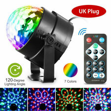 Disco Party Lights Stages Lighting Ball Light 7 Colors LED DJ Dance Bulb Lamp