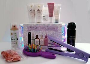 9pc Hair Care Favorites Gift Set w/Mini Flat Iron ❤ Brand New