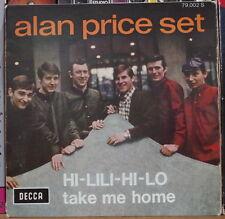 ALAN PRICE SET HI-LILI-LO FRENCH SP SERIE DECCA 1966