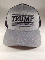Make America Great Again Trump MAGA USA Embroidery New Hat Mesh Snap Back MAGA