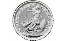 GRANDE BRETAGNE 20 Pence Argent 1/10 Once Britannia 2020